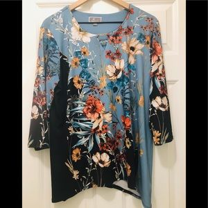 JM Collection Tunic Top, New Condition